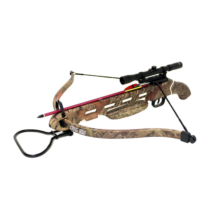 150 lb Short Stock Hunting Crossbow Only with Arrows / Bolts