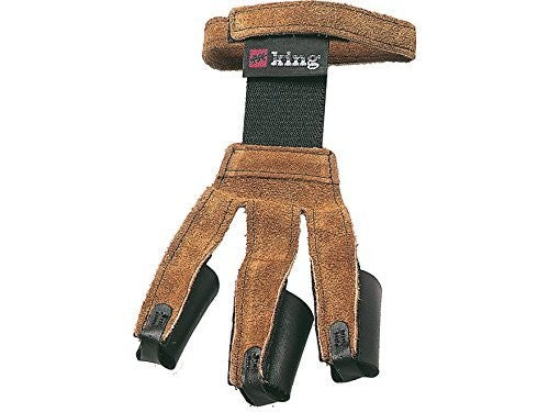PSE King Traditional Leather Shooting Glove