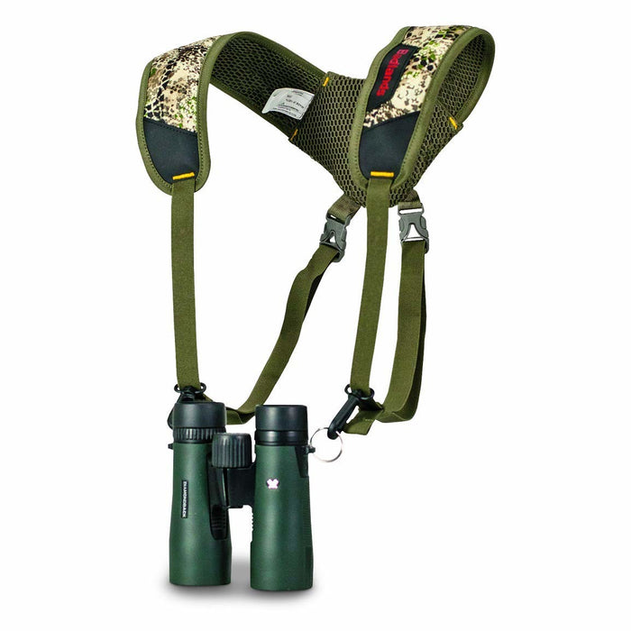 Badlands Bino Basics Binocular Camouflaged Strap Harness for Hunting Binoculars