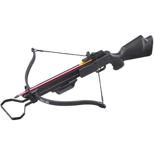 130lbs Camo Hunting Crossbow with 4x20 Scope and 7 x Arrows + Paper Target