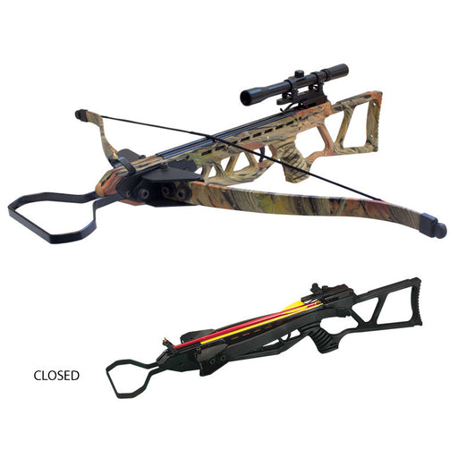 130lbs Foldable Hunting Crossbow Package