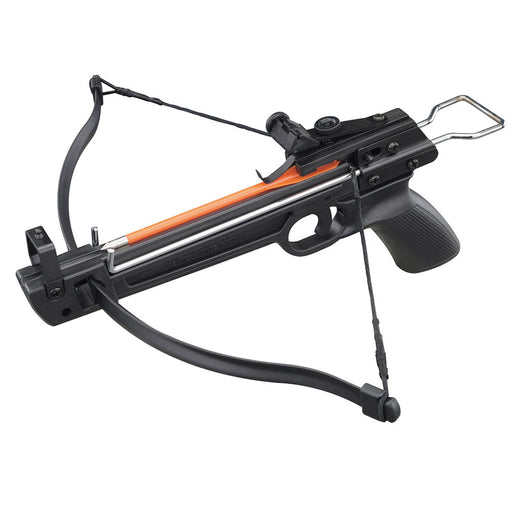 Hand Held Hunting Archery 50lbs Plastic Pistol Crossbow with 29 Arrows 2 Strings
