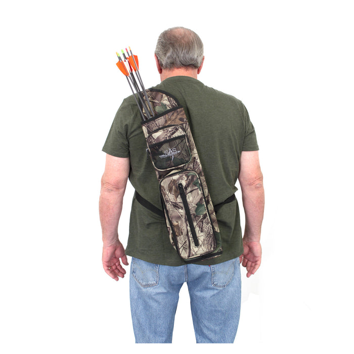 SAS Back Arrow Quiver with Two Front Pockets
