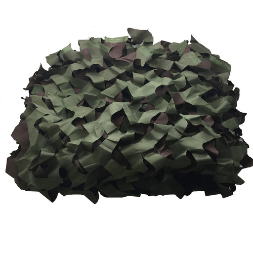 SAS Green Camo Netting - 4.5 ft x 6.5 ft