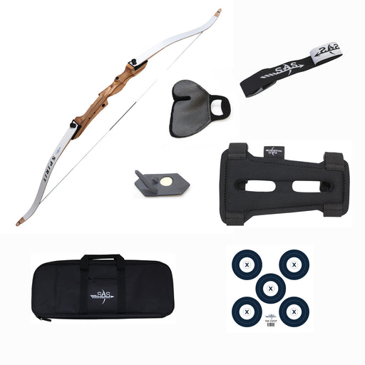 "SAS Spirit 62"" Youth Takedown Bow Package"