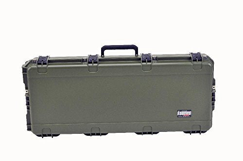 SKB Sports iSeries Parallel Limb Double Bow/Rifle Case, 40 x 16 x 5.5-Inch, Olive