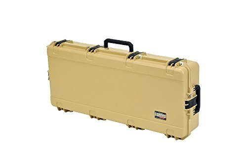 SKB Injection Molded 40-Inch Wide Double Bow/Short Rifle Case (Desert Tan)
