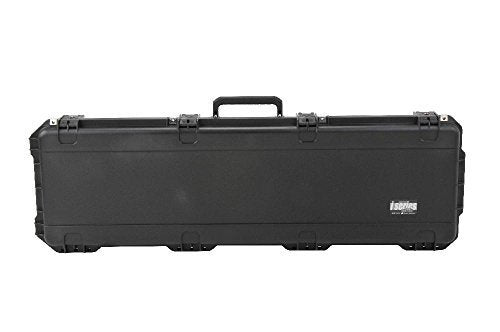"SKB iSeries 5014 Double Bow/Quad Rifle Case with Wheels 50-1/2"" Polymer"