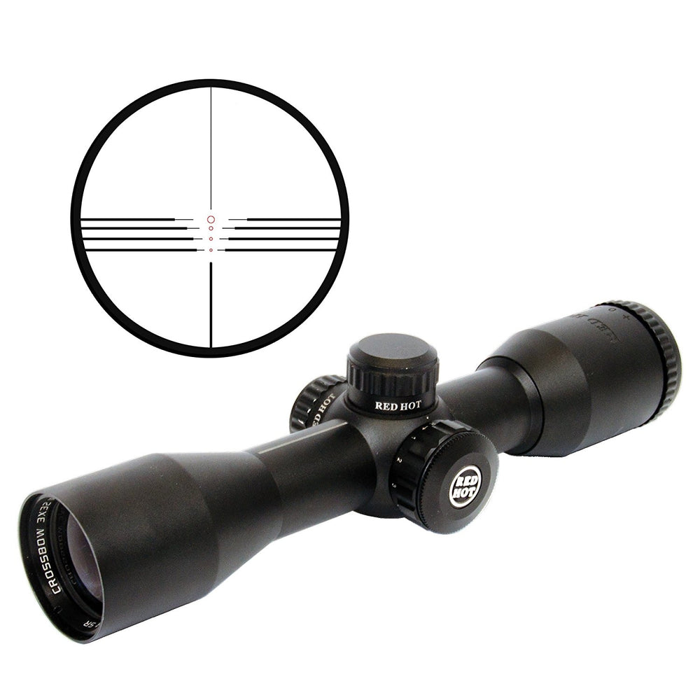 Parker RED HOT 3 x 32 Multi-Reticle Scope