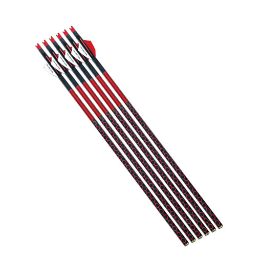 "Parker RED HOT HV Carbon-Arrow 20"" (no points) 300 Gr.- 6/Pack"