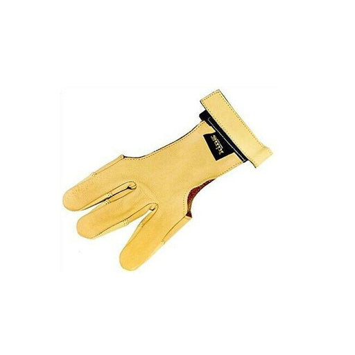 PSE/King Deerskin Glove 3-Finger Double Layered At Fingerips