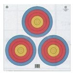 Maple Leaf 4-Color FITA Official 3-Spot Target
