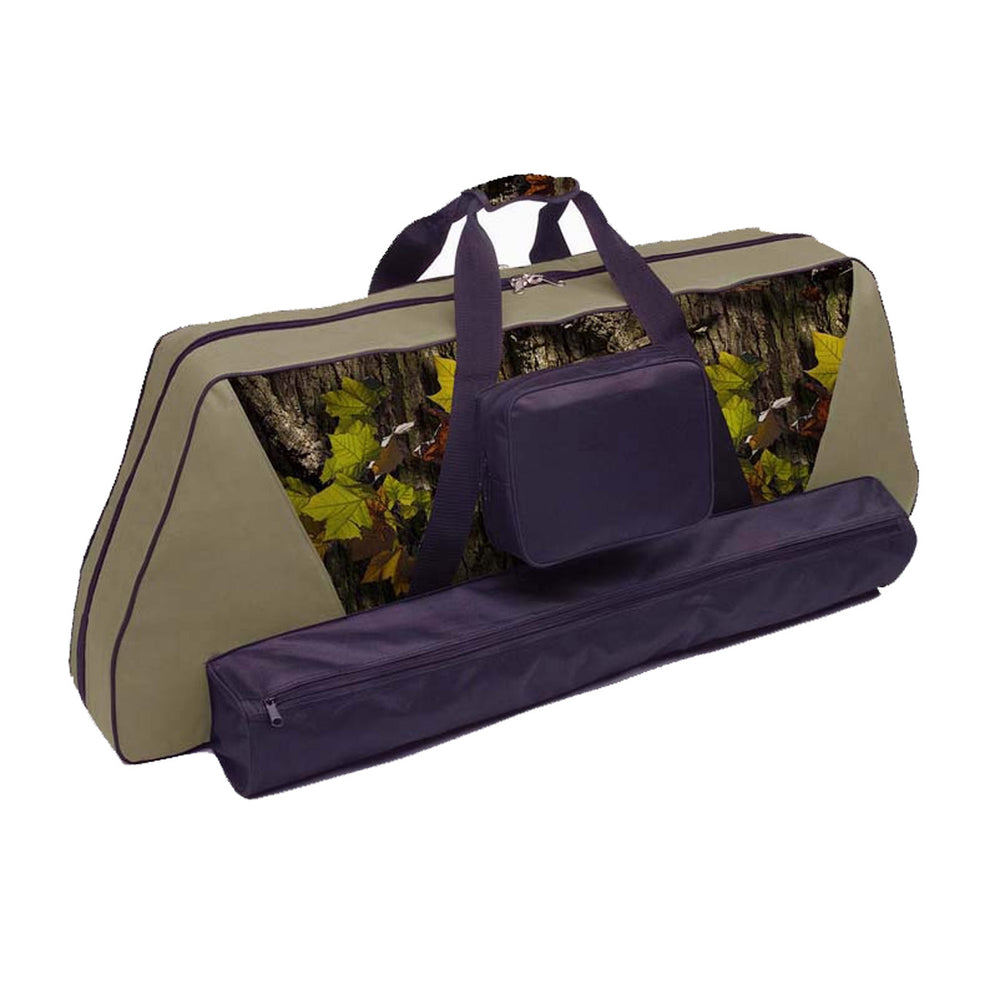 "30-06 41"" Premium Double Parallel Bow Case for Two Bows with Arrow Pocket"