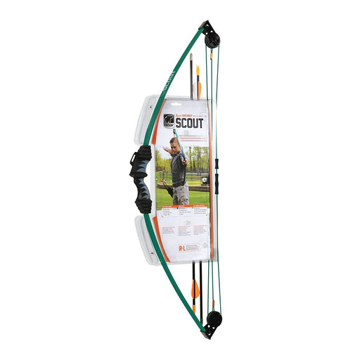 "Bear Archery 33"" Scout Compound Youth Bow Green"