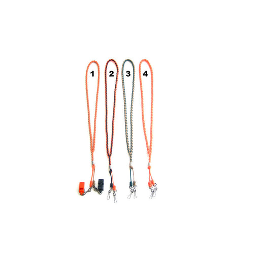 Heavy Hauler Outdoor Gear Model E Double Swivel Clip Lanyard- 3 Colors Available