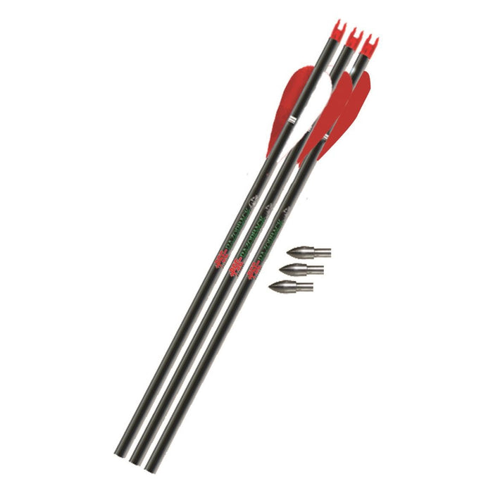 PSE Razorback Carbon Youth Arrows - 6/Pack