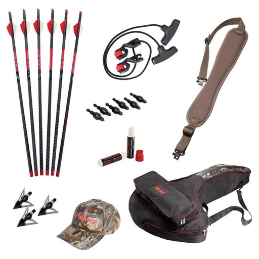 Parker RED HOT Perfect Storm Crossbow Accessory Package