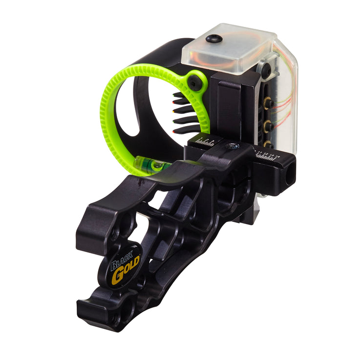 Black Gold Backdraft 5 pin Black .019 Bowsight RH