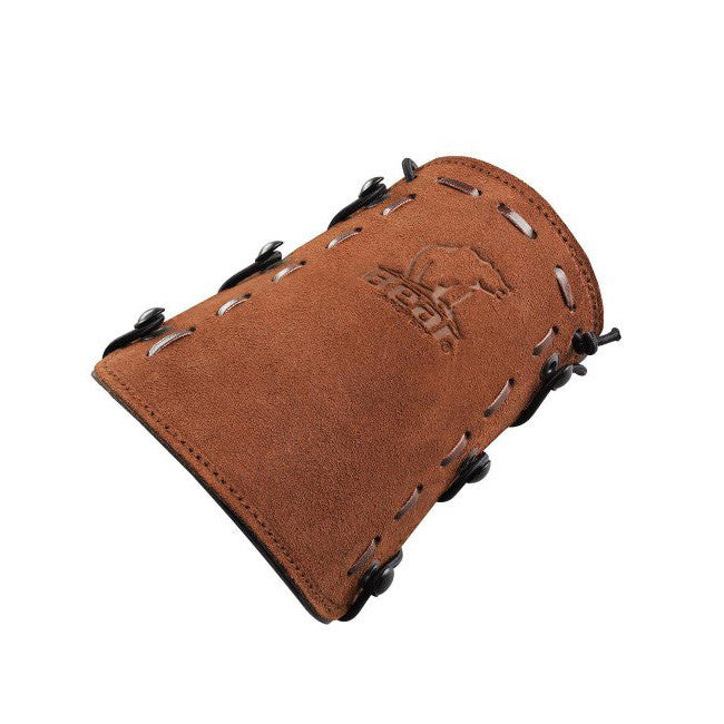 Bear Archery Leather Bear Logo Armguard