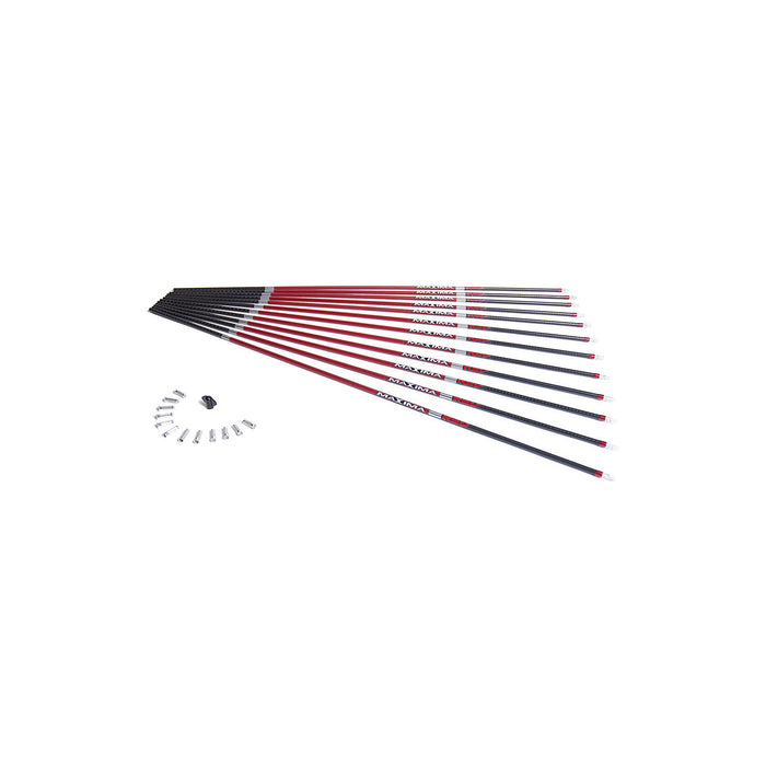 Carbon Express Maxima RED Carbon Arrow Shaft with Dynamic Spine Control, 12-Pack