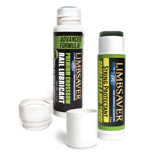 LimbSaver Crossbow Rail Lube and Bow String Conditioner Combo Pack
