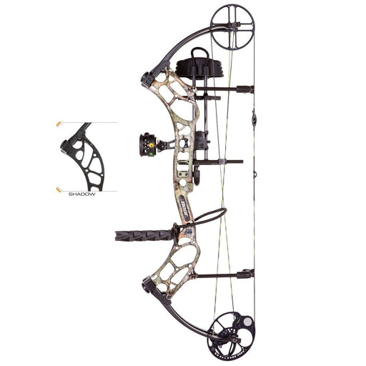 Bear Archery Wild RTH 70# Right Hand Bow Package Shadow Black Series