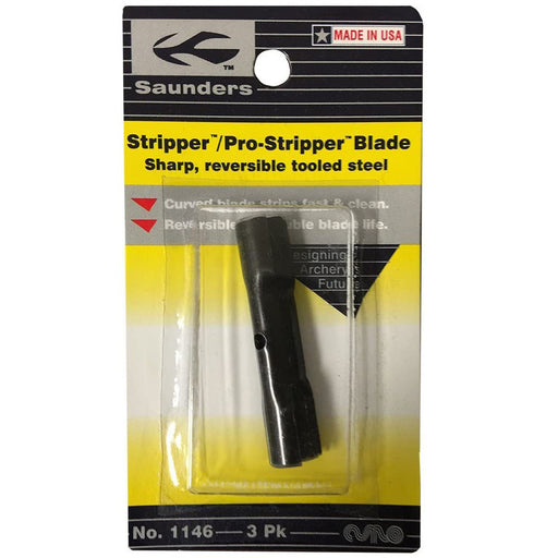 Saunders Archery Co Feather Stripper Replacement Blades - 3/Pack
