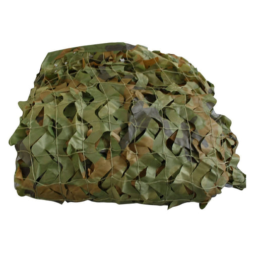 SAS Outdoor Camping Lightweight Camo Netting 4 Sizes - Woodland Camouflage