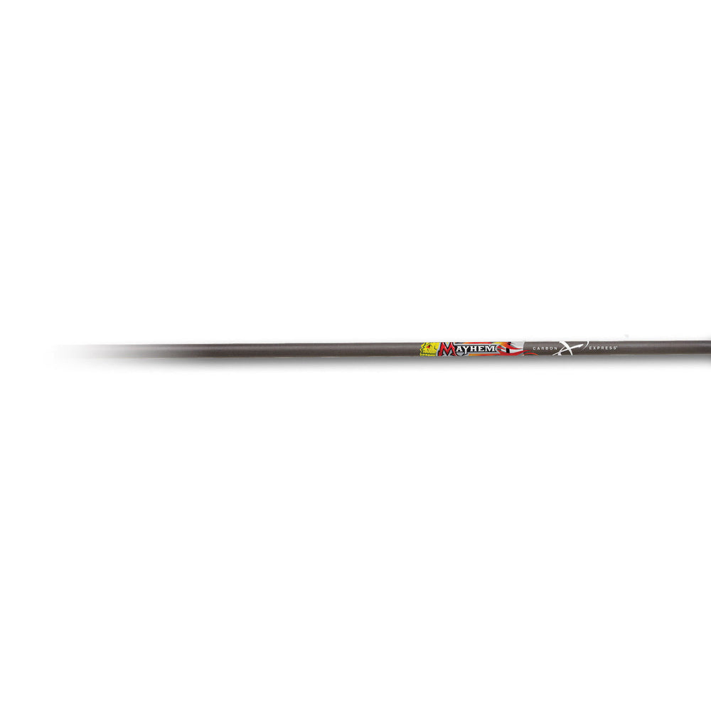 "Carbon Express Mayhem 20"" Crossbolt Moon Nock 6 Pk"