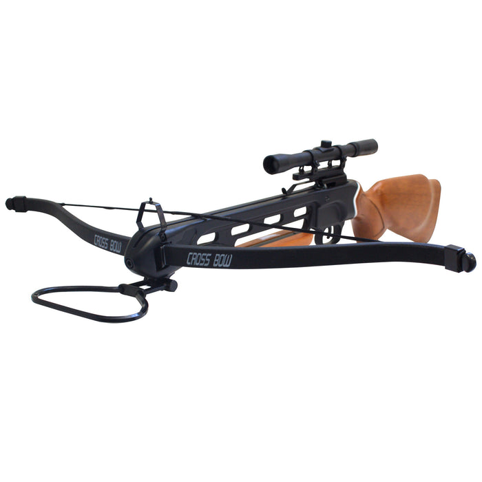 SAS Manticore 150 lbs Recurve Hunting Crossbow Package