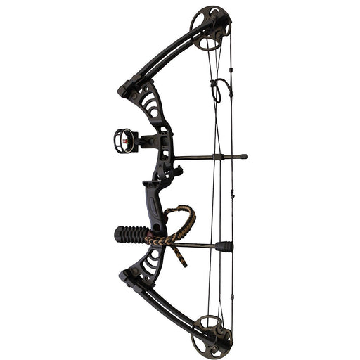 "SAS Scorpii 30-55 Lb 19-29"" Compound Bow Package with Bow Stabilizer, Bow Sight"