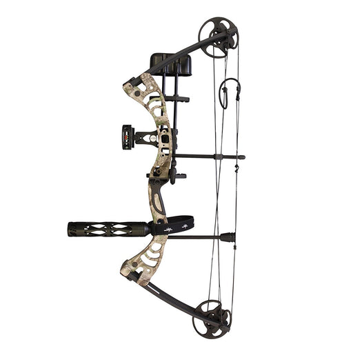 "SAS Scorpii 55 Lb 29"" Compound Bow Pro Package with Quickshot Arrow Rest more"