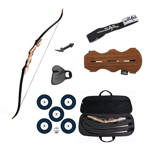SAS Sage 62in Recurve Bow Package