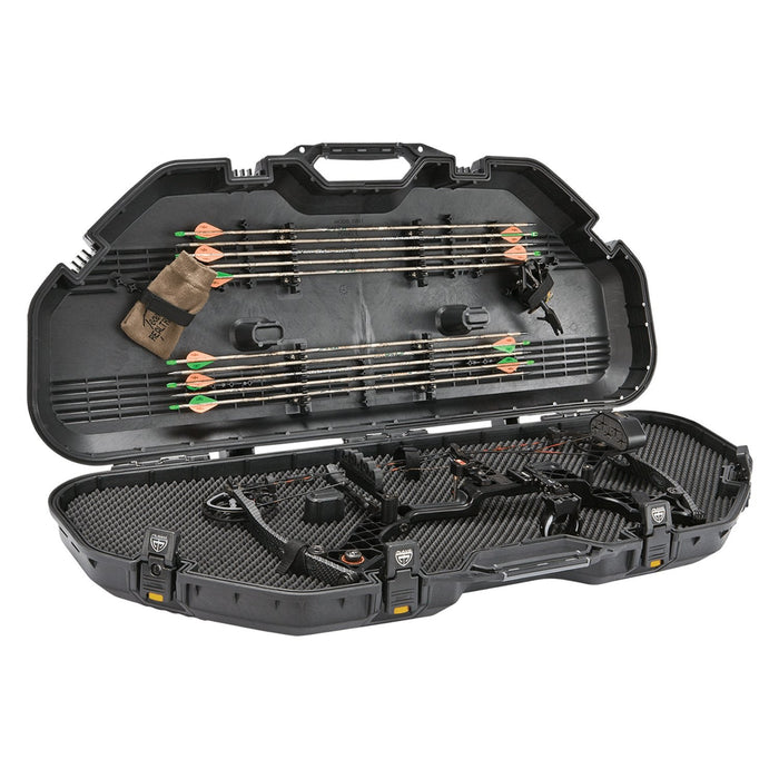Plano AW All Weather Series Hard Bow Case Polymer - Black and Yellow