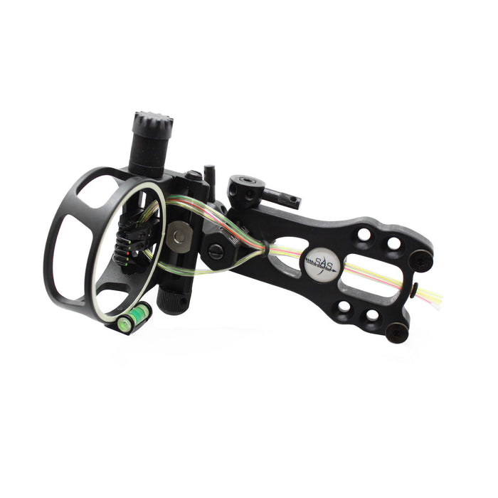 SAS 5 Pins019 Fiber Optic Bow Sight w/ Micro Adjustments and LED Light- Open Box
