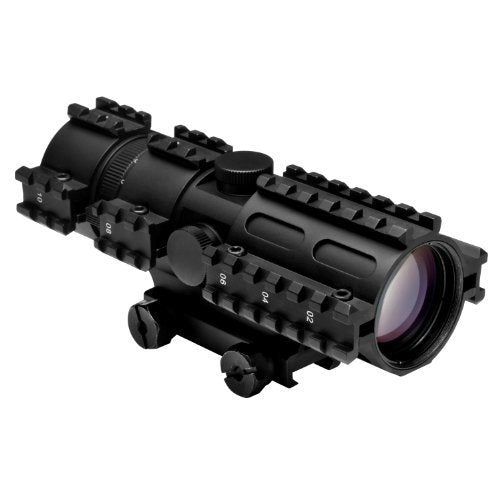 TRI-RAIL SERIES 3-9x42 COMPACT SCOPE/3 RAIL SIGHTING SYSTEM/RANGEFINDER/WEAVER MOUNT - Open Box