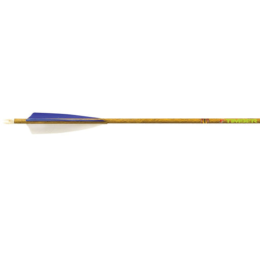 PSE Carbon Force Timber Arrows Traditional Wood Pattern - 1 Dz