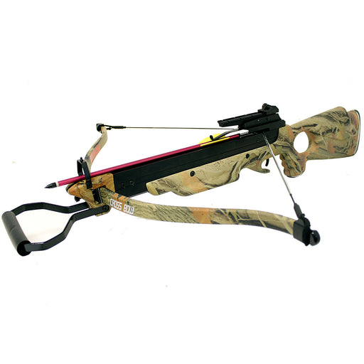 Wizard Powerful 150 Lbs Hunting Recurve Crossbow - 4 Colors Available
