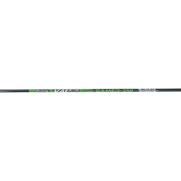 Victory Archery VAP Gamer Shafts Ultra Small Diameter Spine Indexed (One Dozen)