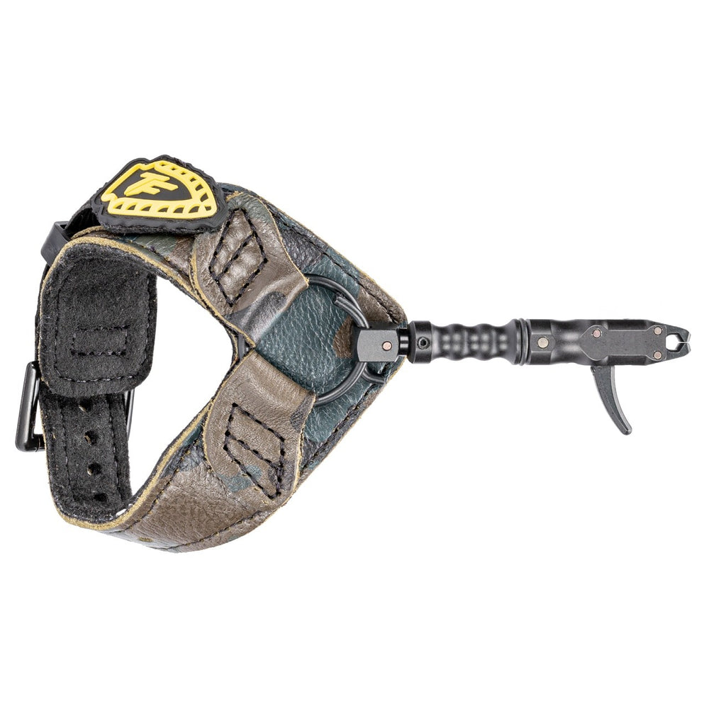 Tru-Fire Smoke Max Bow Release Buckle Wrist Strap w/ Foldback Option One Size