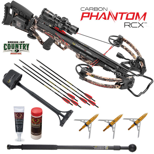 TenPoint Carbon Phantom RCX Crossbow Package with RangeMaster Pro Scope, ACUdraw