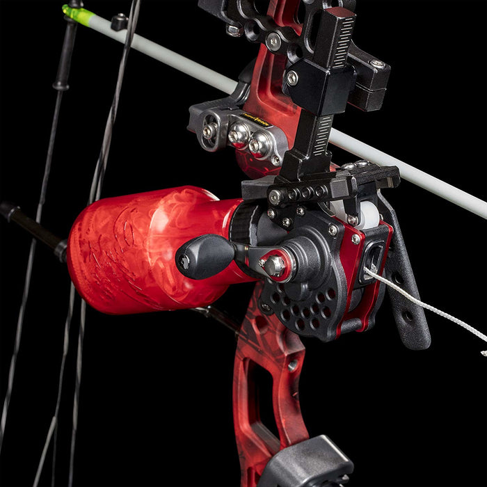 Cajun Winch Pro Bowfishing Reel Vertical and Horizontal Adjust on Any Bow- LH/RH