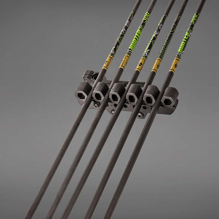 Trophy Ridge Light-Lock 2-Piece 5 Arrow Lighted Black Quiver for Compound Bow