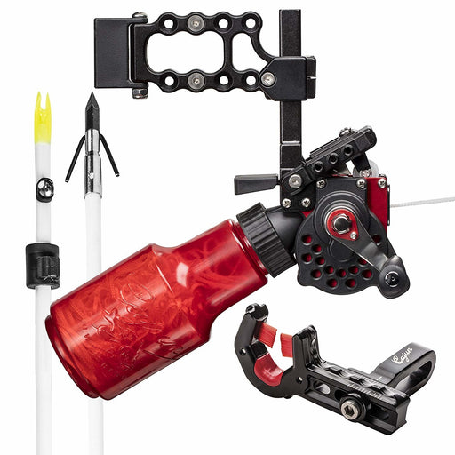 Cajun Winch Pro Bowfishing Reel Kit Vertical or Horizontal Adjust For Any Bow