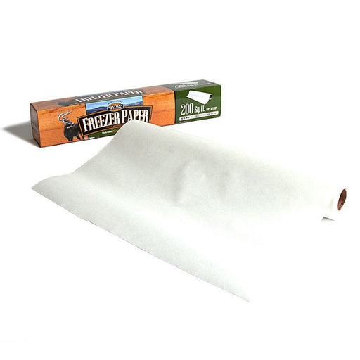 Eastman Outdoors 38246 Freezer Paper, 200 Square Feet, Plastic-Coated White