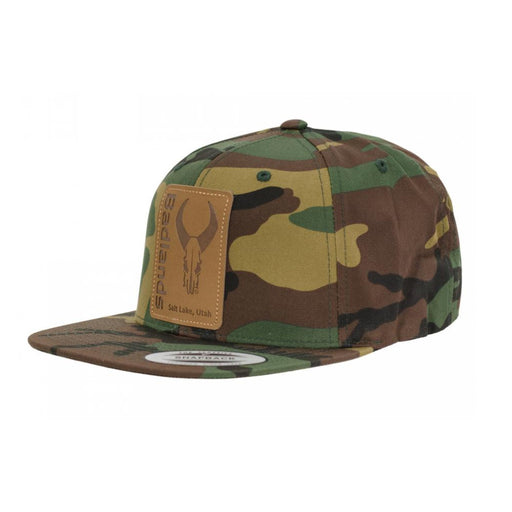 Badlands Army Camo Flatty Hat