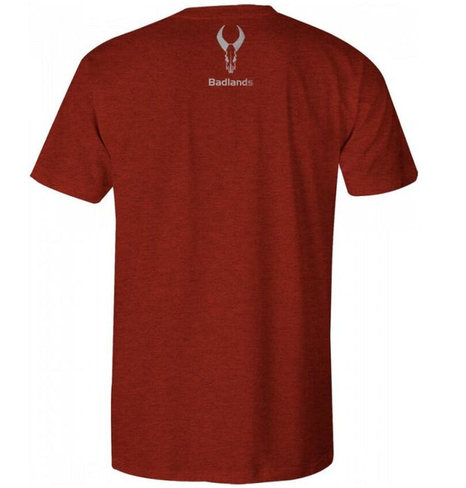 Badlands Crimson Tee Red