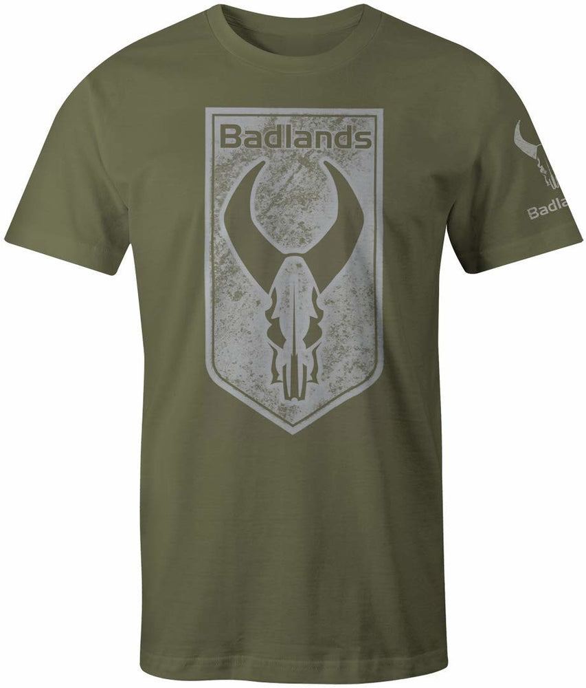 Badlands Tag Tee Green Hunting