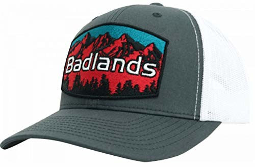 Badlands Snapback with RED Mountain Patch