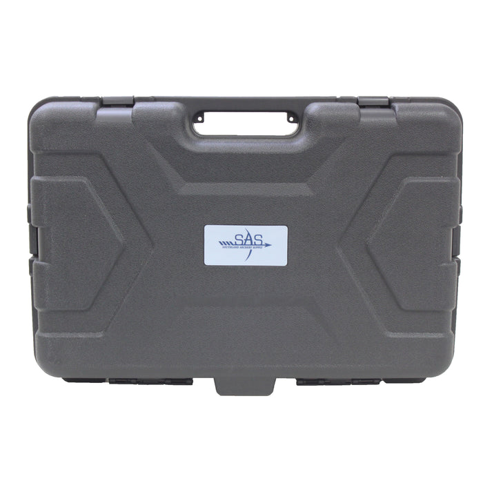 "SAS 22.5"" Heavy Duty Hard Camera Case w/ Pluck Foam and Locking Holes - Open Box"